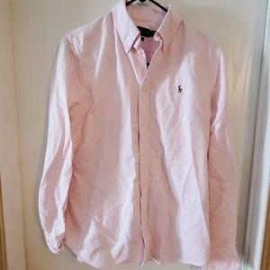 Ralph Lauren Polo Long Sleeve Shirt, Juniors Large